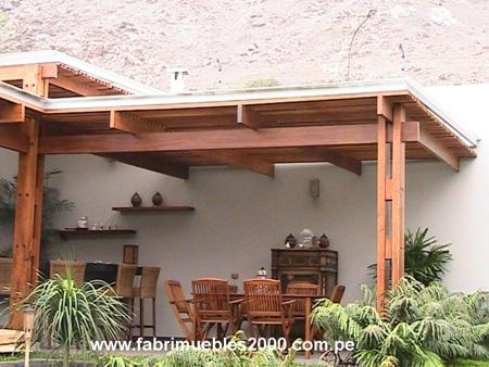 Techos de madera techos sol y sombra pagina 1 for Modelos de yeso para techos