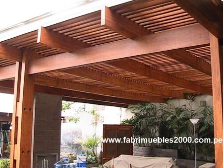 techos de madera techos sol y sombra pagina 1. Black Bedroom Furniture Sets. Home Design Ideas