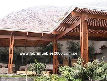 Techos de madera techos sol y sombra pagina 2 for Techos en madera para patios